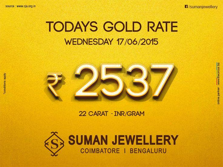 Latest #gold_rate at #suman_jewellery #market_rate #TamilNadu
