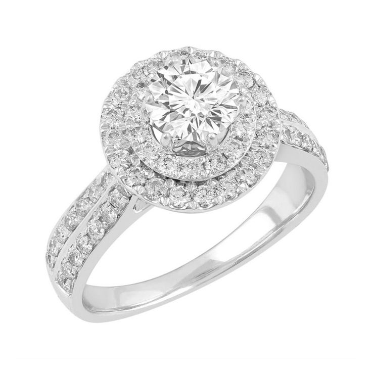 Love by Michelle 18ct White Gold 1.45ct Diamond Solitaire Ring. Available in stores or online - 9B49010