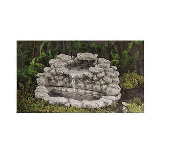 Fairy Garden Fountain With Pump Miniature Garden Accessories Fairy Garden Pond Zen Garden Water Feature Fairy Bird Bath Woodland Wate Garden Accessories Water Features In The Garden Water Garden