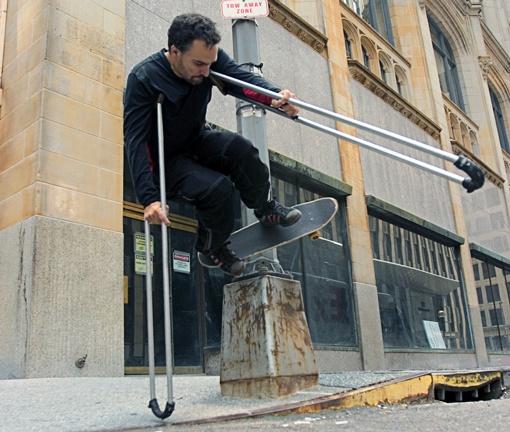 'Crutch Master' Bill Shannon