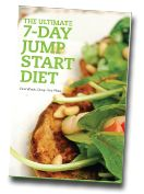 Image of the cover for the book 'The Ultimate 7-Day Jump Start Diet' by Dawn Jackson Blatner, Registered Dietitian