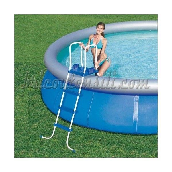 Per piscine con altezza max 122 e 132 cm