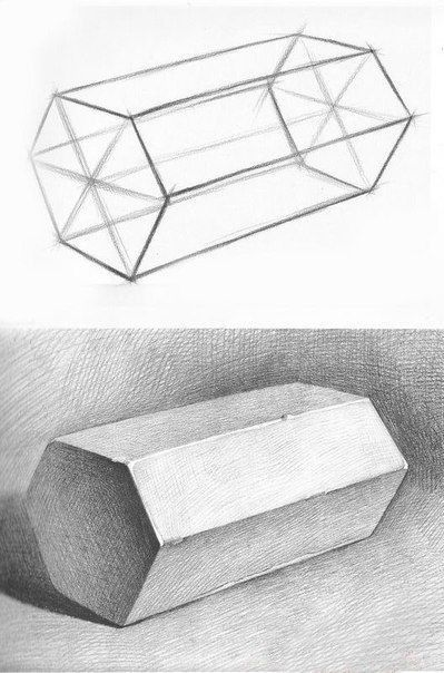 drawing drawings geometric pencil shapes dessin desenhos basic perspective geometrical seul trait perspectiva painting desenho shading sketch easy desenhar sketches
