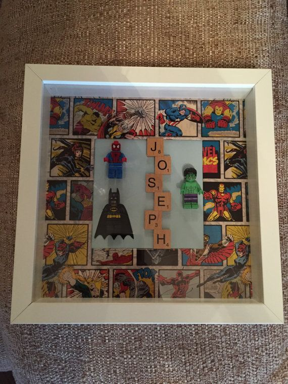 Perfect for any little superhero!! Personalised to your needs. Hulk, Batman , Captain America, Thor, Spider-Man or Superman can be added.