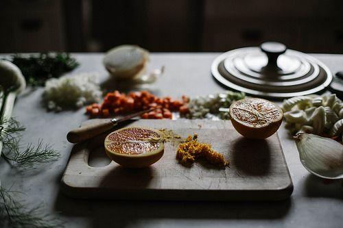 fennel orange & leek pork osso buco