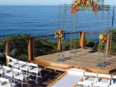 Hyatt Carmel Highlands Monterey wedding location Carmel rehearsal dinner location 93923