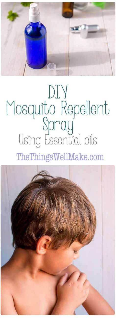 Keep the mosquitos away using the best essential oils for repelling mosquitos. I'll also share how to make a homemade mosquito repellent spray. via @thethingswellmake