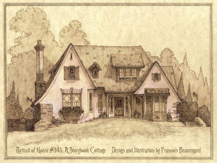 Portrait of House#345, A Storybook Cottage by Built4ever