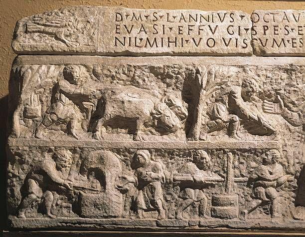 Roman art: Sarcophagus relief