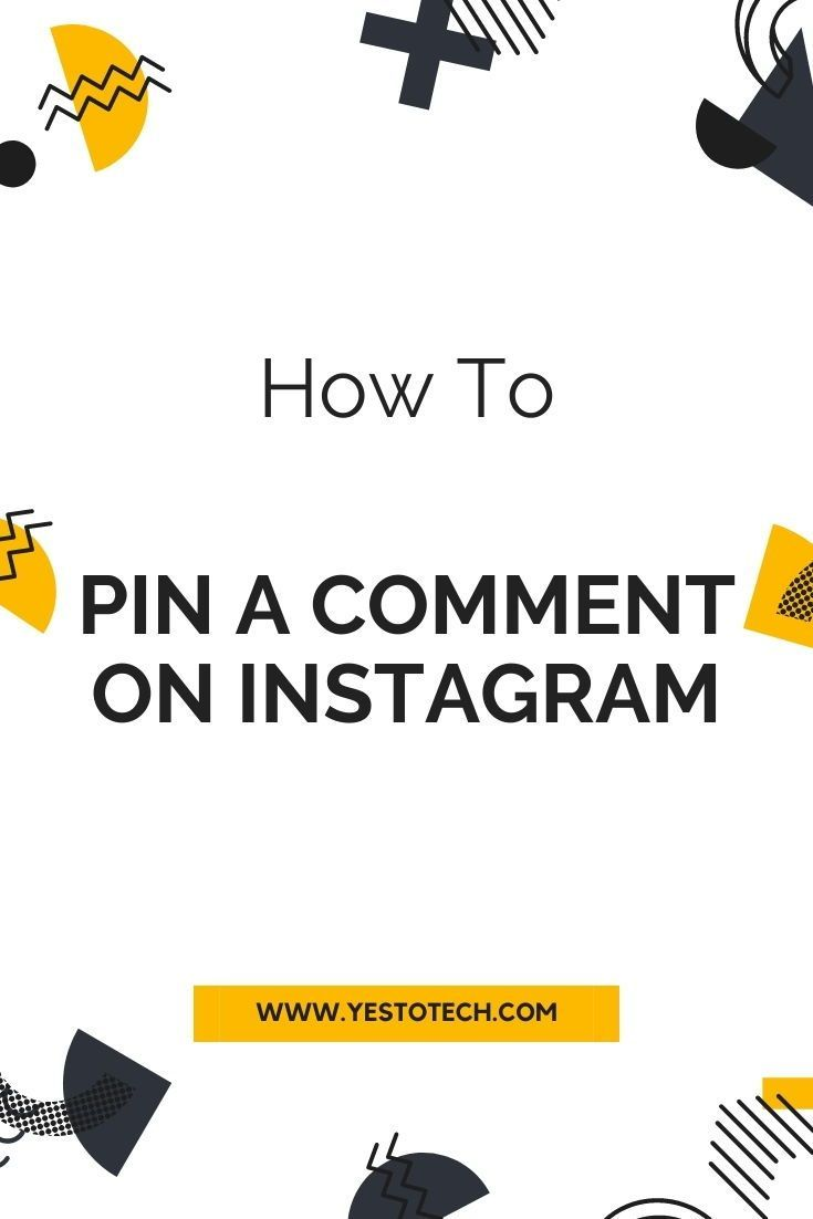 How To Pin A Comment On Instagram Pin A Comment On Instagram Posts Instagram Business Marketing Instagram Marketing Instagram Business