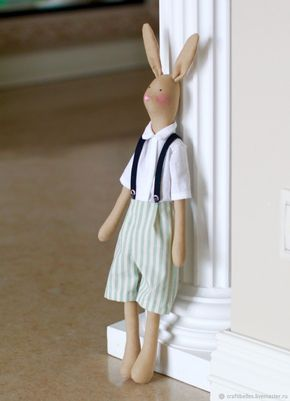 Bunny Tilda boy – shop online on Livemaster with shipping