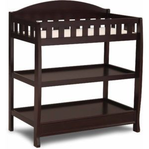 Delta Espresso Cherry Changing Table