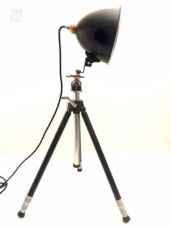 UNIKAT Fotolampe auf Stativ Vintage Spot - cyan74.com vintage and pop culture