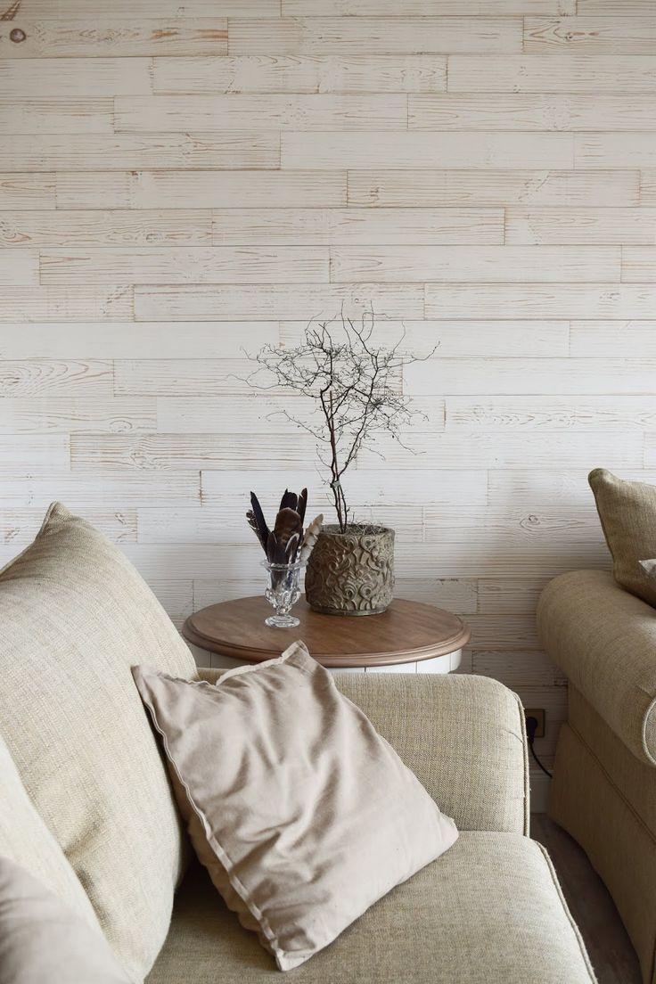 Wohnzimmer Dekoidee Wandverkleidung Holz Wandwood Deko Einrichtung Holzwand Renovierung Renovieren Diy Selbermach Wandverkleidung Holz Holzwand Wandverkleidung
