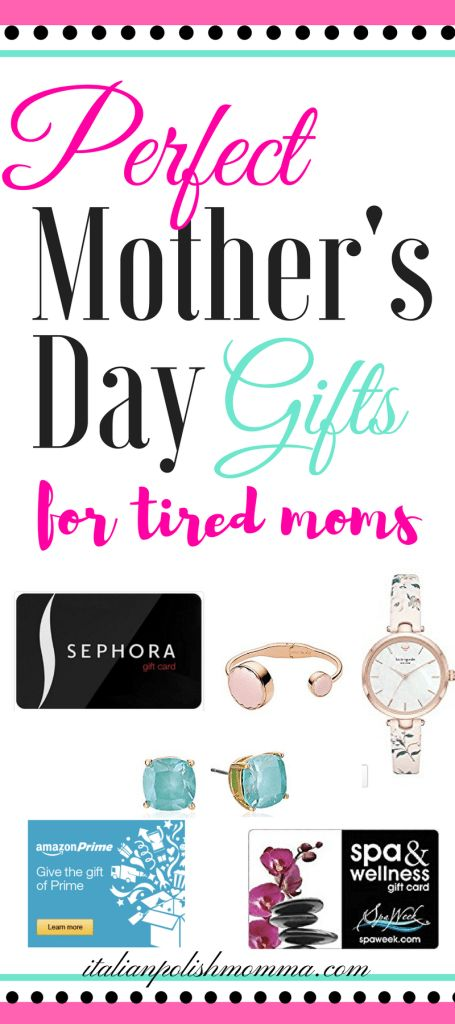 Mother's Day Gifts! Wondering what to get your mom or wife for Mother's Day? Here are some great gift ideas from a tired mom! Real gifts are listed that moms truly want for Mother's Day! Free printable coupons to give her included! #gifts #mothersday #mothersdaygifts #giftsforher #mom
