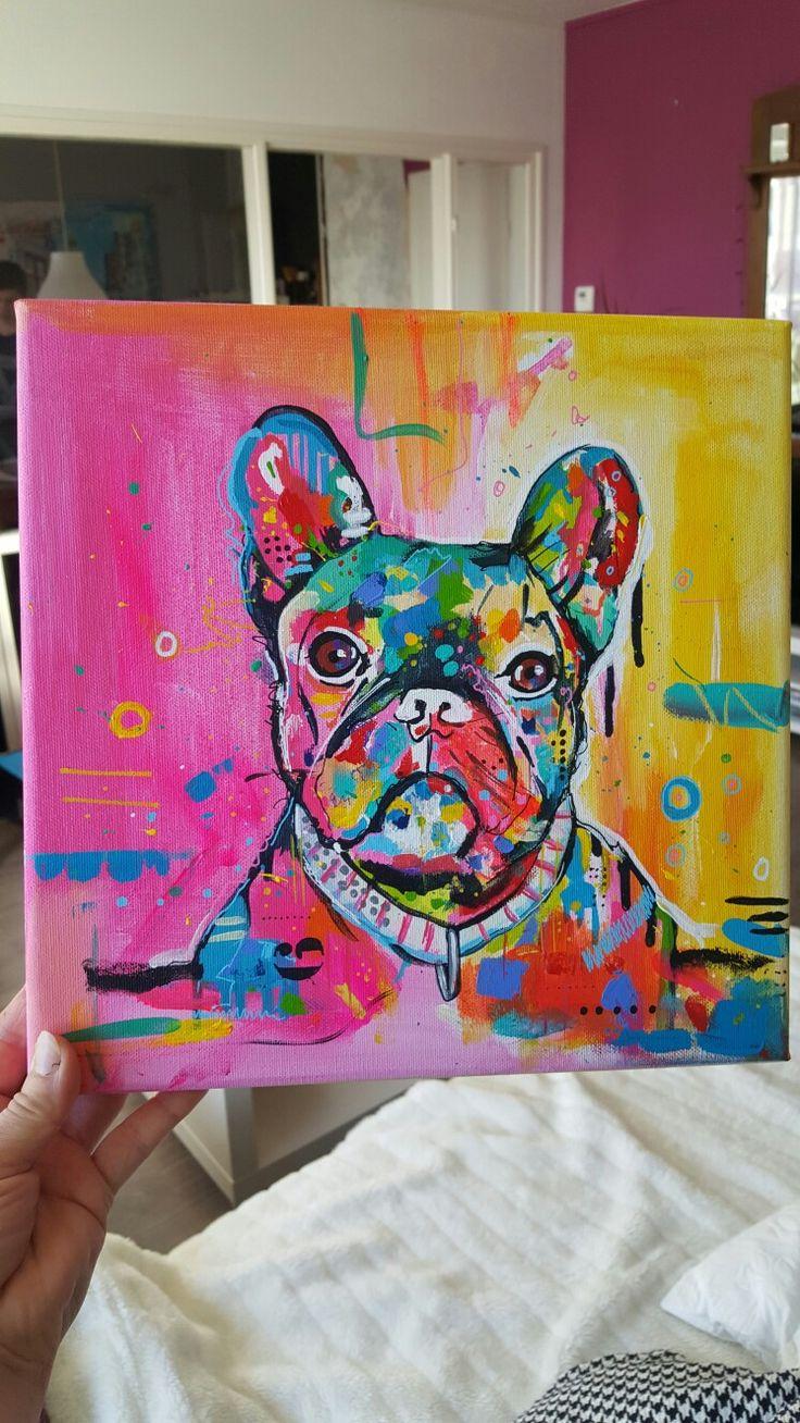 Workshop kleurrijke dieren      schilderen.