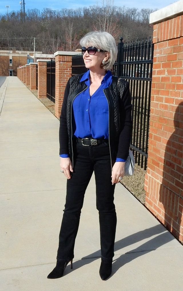 Stop by to meet this week's 40+ Styleblazer Susan Street from Fifty, not Frumpy.