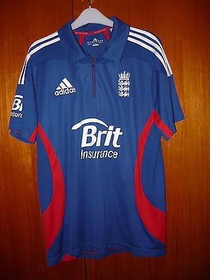 England #cricket shirt adidas size #44/46 uk xl #192cm odi 2011 brit insurance,  View more on the LINK: http://www.zeppy.io/product/gb/2/221935298493/