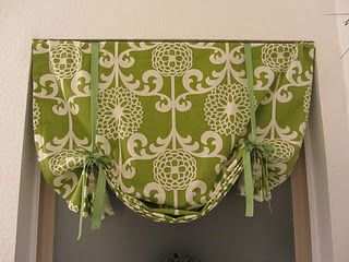 For my kitchen and bathroom windows! NO SEWING :-) easy DIY curtains, instructions on blog.  So cute/quick/easy Might use this in the baby's room