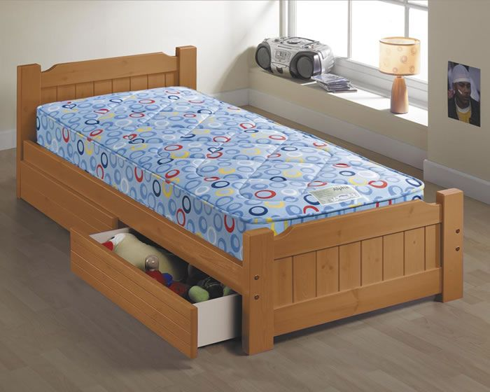 Children S Beds With Built In Drawers