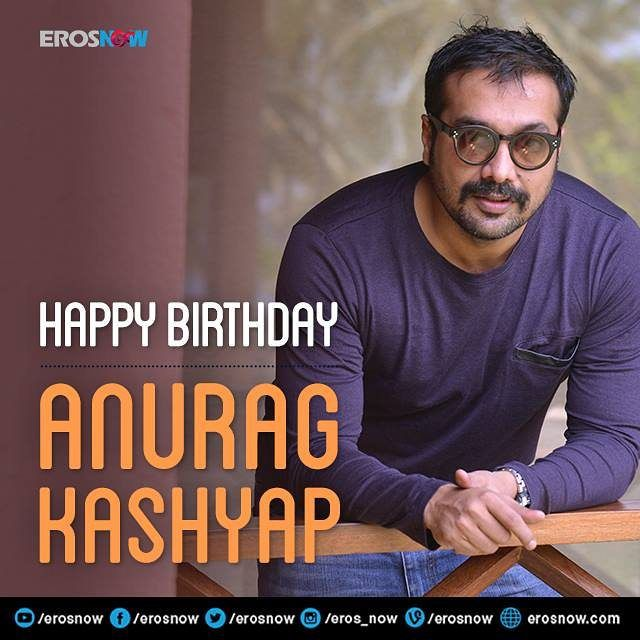The master filmmaker Anurag Kashyap celebrates his birthday today! We wish him a brilliant year ahead. #India #Bollywood #Filmmaker.