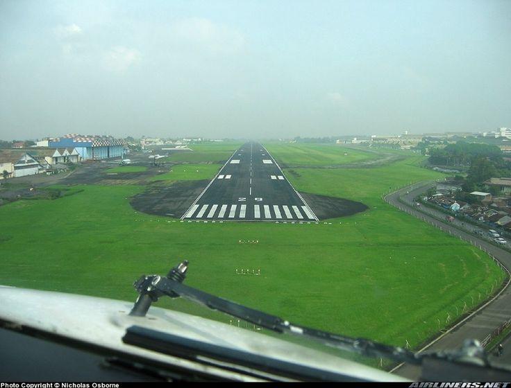 Husein Sastranegara International Airport (BDO) in Bandung, Jawa Barat