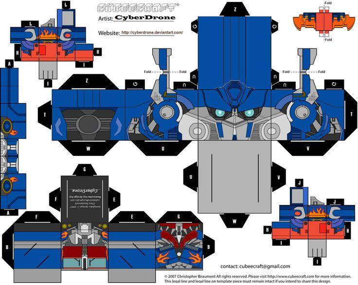 Transformers Cubeecraft ! - Taringa!