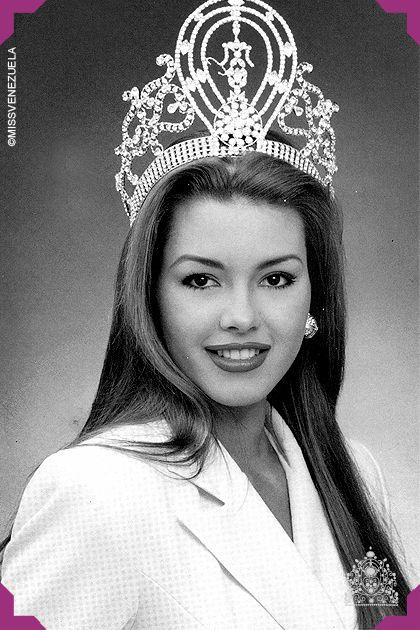 Alicia Machado. Miss Yaracuy 1995. Miss Venezuela 1995. Miss Universo 1996  Oriunda de Maracay, Alicia contaba tan solo con 18 años cuando es coronada Miss Venezuela