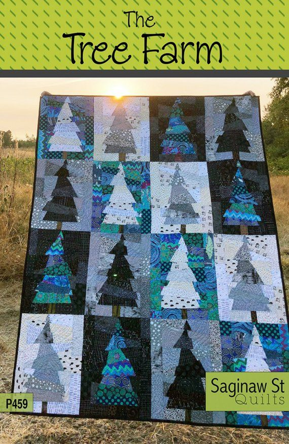 The Tree Farm Quilt Pattern Christmas Tree Lodge Quilt Pattern Creative Grids Spider Web Ruler Cg Farm Quilt Patterns Christmas Tree Quilt Pattern Farm Quilt