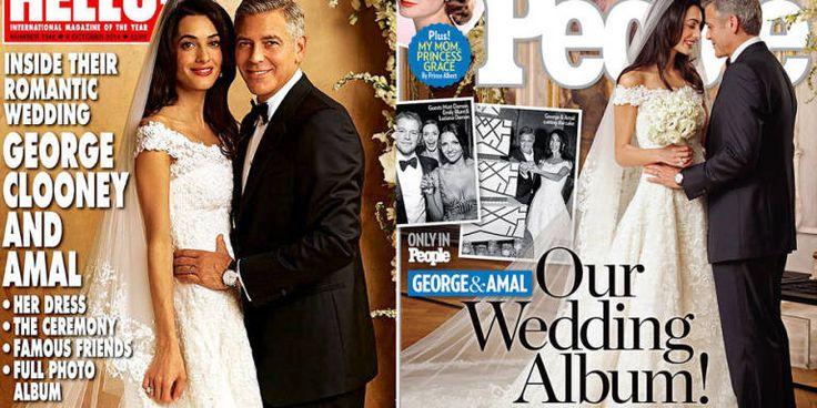 And Here's Amal Alamuddin's Wedding Dress -Cosmopolitan.com