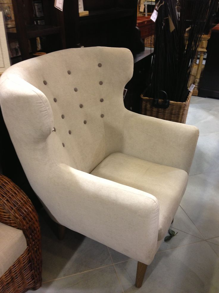 Our new Retro Chairs are in stores now! Pictured in natural for $407.50. www.wickeremporium.ca