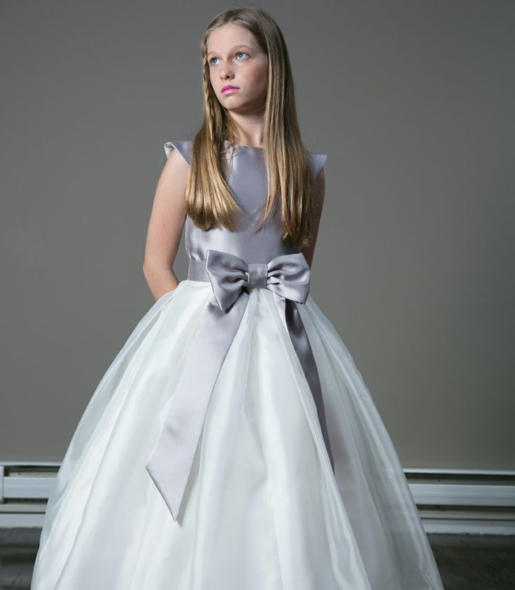 17 best images about fashion on pinterest satin lace for Wedding dresses for tweens