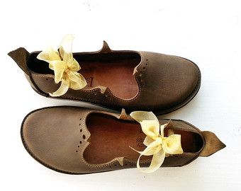 Harry Potter PRICKLE Handmade Leather Pointy Shoes by Fairysteps