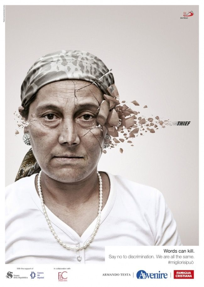 Best Words For The Head Images On Pinterest Social Issues - Extremely powerful photo project shows effects verbal abuse