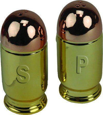 Salt & Pepper Shaker Set - Bullet