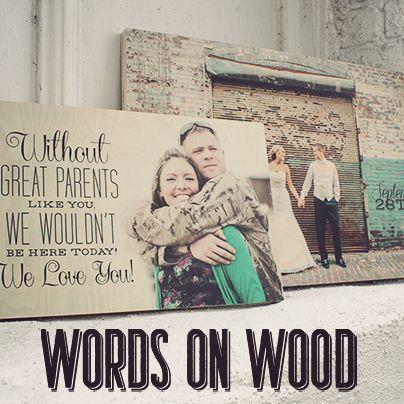 Photo on Wood - Unique Christmas Gift. info@PicsonWood.com    www.picsonwood.com