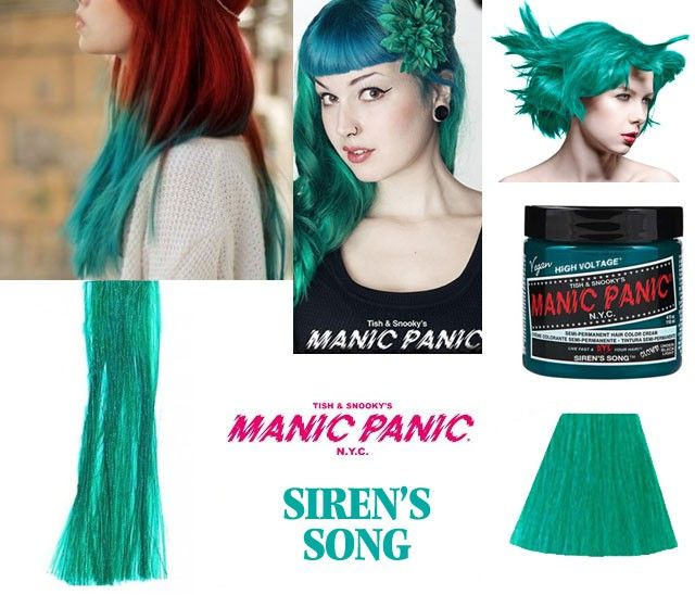 Manic Panic Siren's Song--can be lightened with the pastelizer