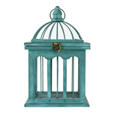 Room in Bloom Collection Wooden Birdcage | Dunelm