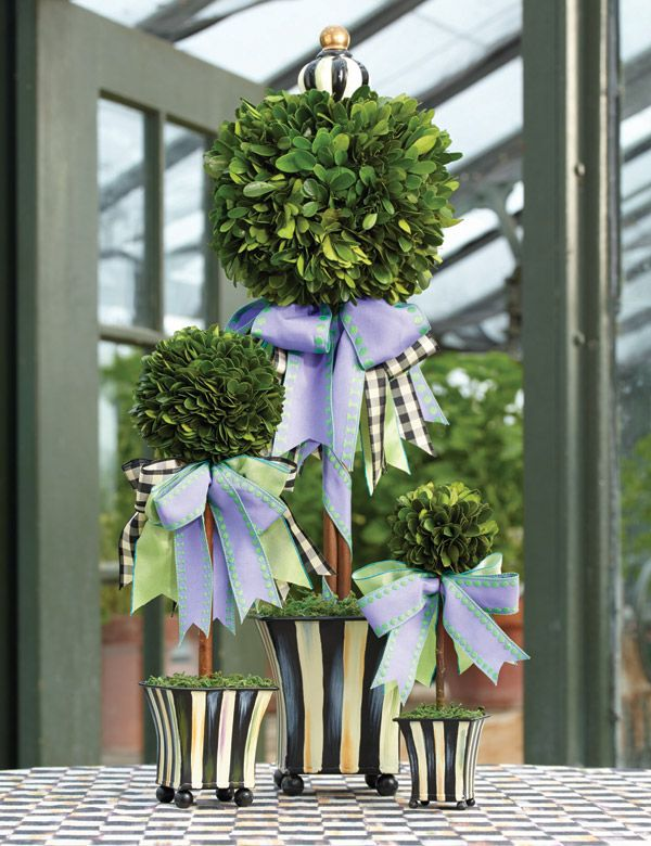 For your own indoor topiary garden.