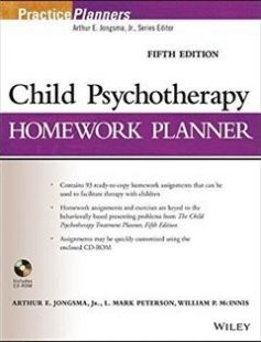 Child Psychotherapy Homework Planner 5th Edition free download by Arthur E. Jongsma Jr. L. Mark Peterson William P. McInnis ISBN: 9781118076743 with BooksBob. Fast and free eBooks download.  The post Child Psychotherapy Homework Planner 5th Edition Free Download appeared first on Booksbob.com.