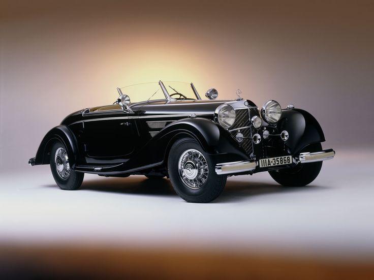 1937 mercedes benz 540k spezial roadster
