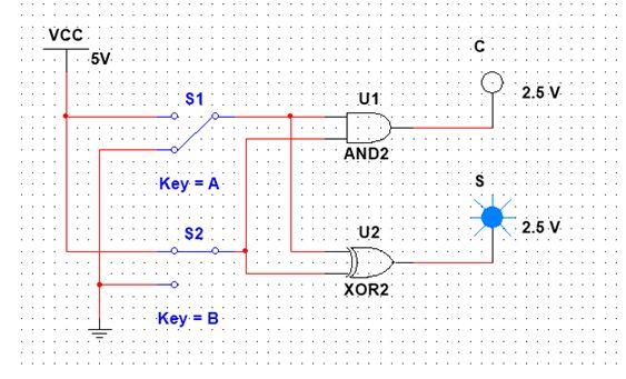 Logic Design - Adder Circuits in Multisim — Steemit