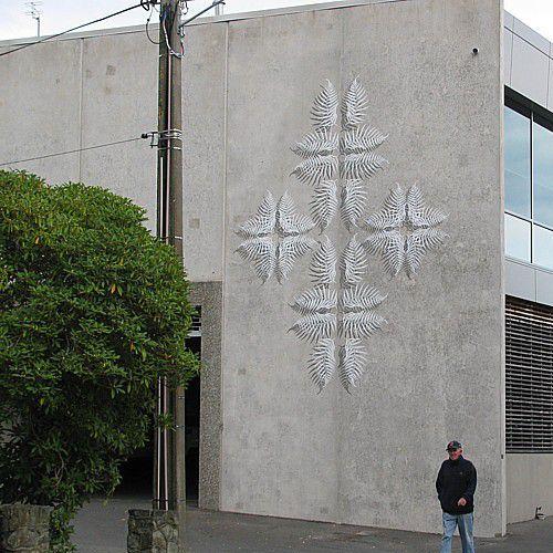 Nelson's riverside murals   Habitat by Resene