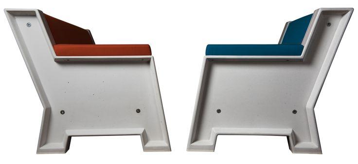 Concrete Sofa | Marcel van Heeswijk