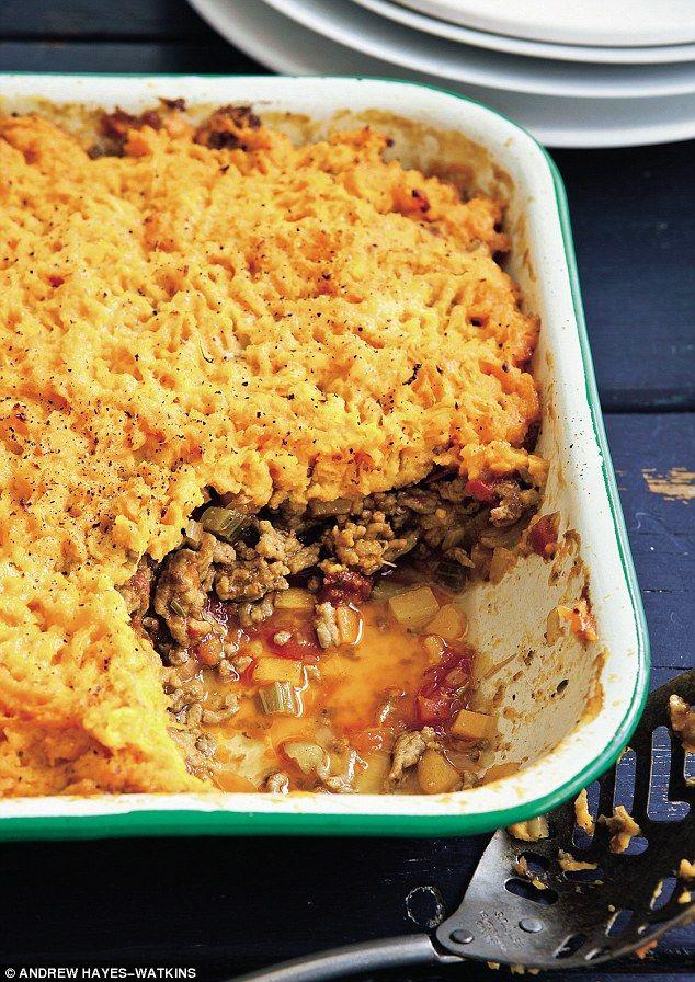 Davina McCall: Shepherd's pie | Daily Mail Online