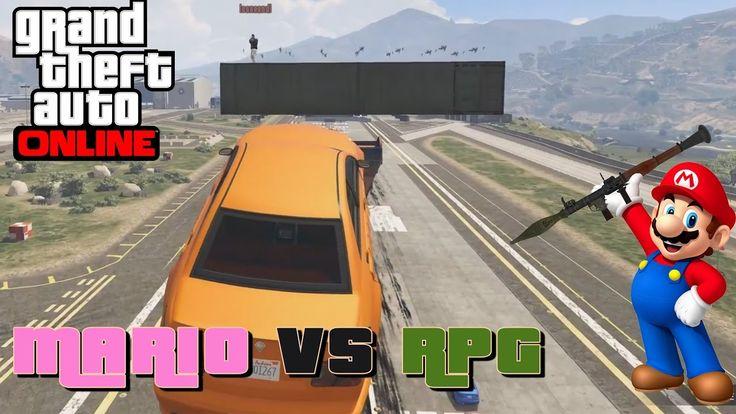 MARIO VS RPG || GTA 5 ONLINE || Crazy Challenges