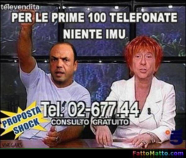 Berlusconi e la sua proposta shock - via FattoMatto.com #FattoMatto