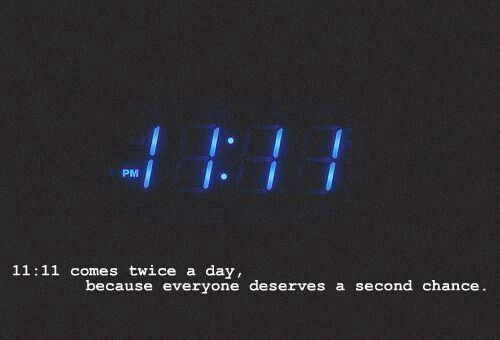 Unless you use army time. I guess theres no second chances for me