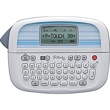 Brother® P-touch PT-90 Personal Label Maker is my favorite but these days all label makers are created equal so get the brand you like. This one is $30 but watch for sales or use store credits you have earned through other purchases.  You will use this all over your home!