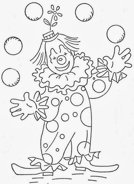 clifford at the circus coloring pages | 52 best Circus Coloring Pages images on Pinterest ...